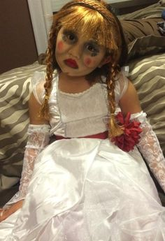 annabelle doll halloween costume
