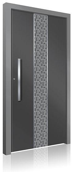 RK-4250 Contemporary Front Doors, Modern Front Door, Front Door Design, Modern Contemporary, Modern Exterior Doors, Interior And Exterior, Aluminium Front Door, Doors Online, Pivot Doors