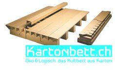 Paperboard Bed