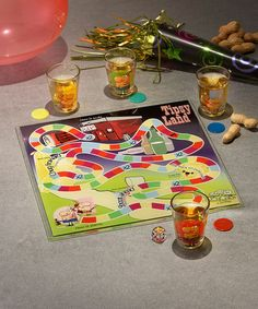 Take a look at this Tipsyland Shot Glass Board Game Set by Jay Import on #zulily today! #gift #game #drinkinggame
