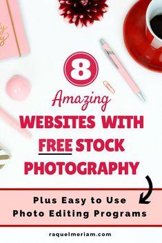 8 Amazing Websites with Free Stock Photography #photos #free #photography #stockphotos #editing