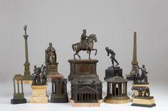 Grand Tour Bronze Miniatures. Circa 19th Century.
