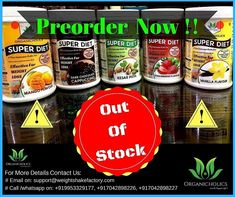 🛑OUT OF STOCK🛑 We are proud to announce that superdiets has been sold out with in 3 months and it has given great weight loss to our respective clients. In other hand we apologise to the clients who are still waiting for the stock. Pre-Order Now! 3 Months, Waiting, Weight Loss, Diet, Fitness, Food, Losing Weight, Essen, Meals