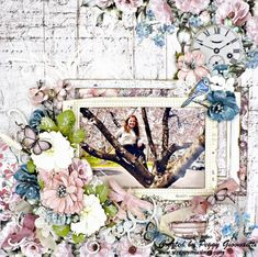 Theme - Trees | Scrapbook Campus Crackle Painting, Image Layout, Ranger Ink, Ink Pads, How To Make Bows, Medium Art, Scrapbooking Layouts, Paper Texture, Bloom