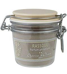 Charme d'Orient - Ghassoul Perfumed with Geranium - 200 g