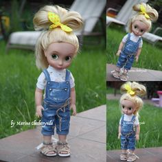 Overall and T-shirt for your Disney animator dolls by FairyTaleLOVEit on Etsy