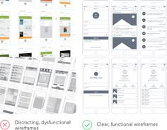 Wireframe Patterns: Design at a Pro Level with Ease - UX Movement