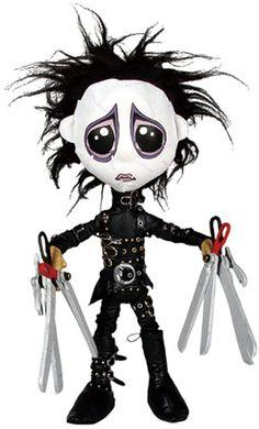 +Edward+Scissorhands+Plush+Doll