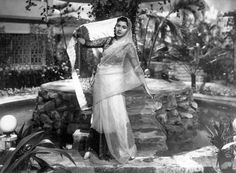 Lobby card from the movie 'Daal Mein Kaala'`, 1964.
