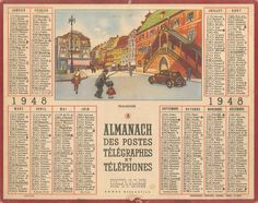 Almanach des Postes 1948