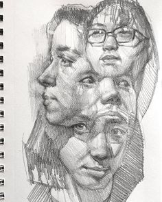 """WEBSTA """"Totem yesterday I am drawing nose examples for one of my classes and this . drawing sort-of emerged. a happy accident-almost that I kind of like. Not my usual thing. Art Sketches, Art Drawings, Nose Drawing, Sad Art, Identity Art, Art Sketchbook, Portrait Art, Art Inspo, Art Reference"""