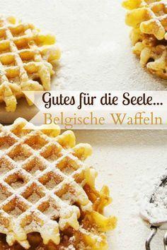 Belgian waffles - Food for Teens Waffle Recipes, Easy Cake Recipes, Sweet Recipes, Baking Recipes, Dessert Recipes, Easy Vanilla Cake Recipe, Sweet Bakery, Belgian Waffles, Best Pancake Recipe