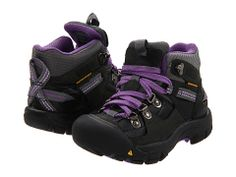 (Merrian) Keen Kids Clayton WP (Toddler/Youth) Dark Shadow/Purple Heart - 6pm.com