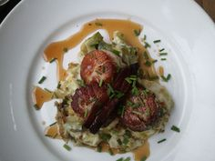Scallops from 370 Common in Laguna Beach, CA are some of the best I have ever had!