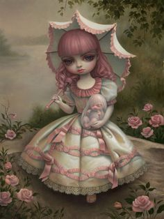 Virgin and Child / Mark Ryden / 2010