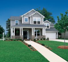 Home Accents 7 Shingles In Cobblestone The Gables And Norandex Vinyl Siding Elsewhere Make This A Real Charmer Www