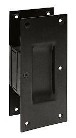 DEL-SDP60U10B | Deltana Solid Brass Pocket Door Passage Pull - EACH (Oil Rubbed Bronze) | thehardwarehut.com
