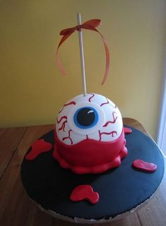 halloween cake.  would be cute cake pops
