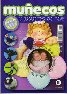 Revista Juguetes y muñecos de tela