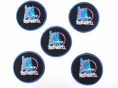 Lot of 5 Blink 182 Iron On Patch Embroidered Heavy Metal Rock Band Music  Sew   34be7ec445