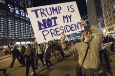 I am just shocked  that people are upset that a self confessed racist bigot was elected president. I guess when people don't vote it has consequences. 5 million less democrats voted in 2016 than in 2012.