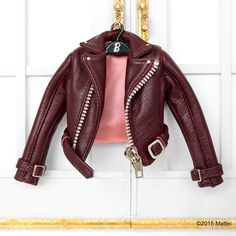 """A classic moto jacket is always in style.  #barbie #barbiestyle"""