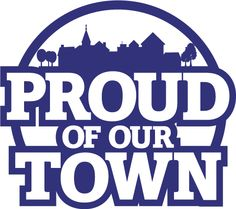 Proud of Our Town Logo