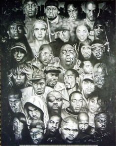 Old School Rap Posters | Rap Gods (Rapper Collage) Music Poster Print Poster at AllPosters.com