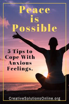 Few things can destroy a sense of peace better than worry and anxiety. If you struggle with anxious thoughts and feelings, you understand the havoc anxiety can wreak on everyday life. Anxiety Tips, Stress And Anxiety, Ptsd Awareness, Anxiety Treatment, Negative Thinking, Coping Mechanisms, Thoughts And Feelings, Feeling Overwhelmed, Finding Peace