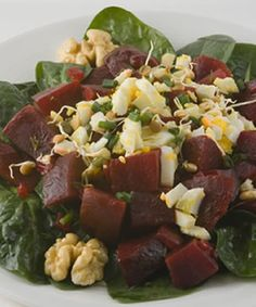 One look at this salad and the family will be rushing to clean up for dinner so they can share in the bounty of this incredibly enticing sal...