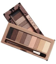 There's no risk of overdoing it with these shimmery neutrals; use black or deep brown as liner.  - GoodHousekeeping.com
