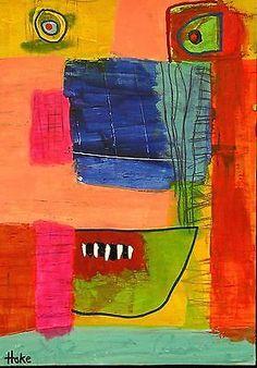 REDRUM-Hoke-Outsider-RAW-Folk-Abstract-Art-Brut-Painting-nAIVE-vISIONARY