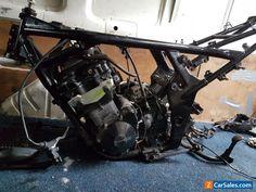 Suzuki Bandit GSF650 ABS K6 Engine and Frame #suzuki #gsf #forsale #unitedkingdom