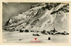 The village Val d'Isere