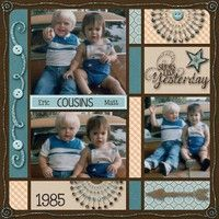 A Project by momof2angels2010 from our Scrapbooking Gallery originally submitted 06/21/13 at 03:51 PM