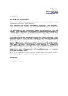 Sephora Resume Cover Letter