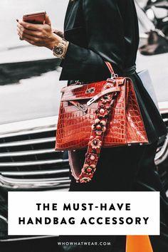 How to wear the guitar strap handbag trend