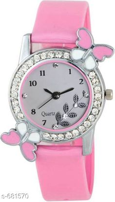 Watches Stylish Women's Watch  Material: PU Size: Free Size Description: It Has 1 Pieces Of Watch Country of Origin: India Sizes Available: Free Size *Proof of Safe Delivery! Click to know on Safety Standards of Delivery Partners- https://ltl.sh/y_nZrAV3  Catalog Rating: ★4 (4322)  Catalog Name: Free Gift Clalssy Ladies Watches Combo Vol 1 CatalogID_77323 C72-SC1087 Code: 371-681570-