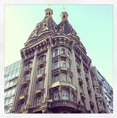 Otto Wulff building. Buenos Aires, Argentina.