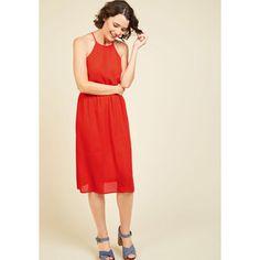 Long Sleeveless A-line Flourishing Touches A-Line Dress