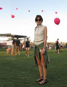 Alexa Chung wears Philosophy di Alberta Ferretti Spring 2013