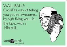 funniest memes crossfit wall balls