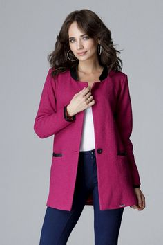 Bunda model 123823 Lenitif-Luxusní prádlo.cz Kappa, Jackets For Women, Wool, Outfit, Sweaters, Products, Fashion, Lilac, Ladies Jackets