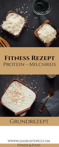 Protein-Milchreis mit tollen Nährwerten. Zutaten: Milchreis, Wasser und Proteinpulver.  Viel Eiweiß, genügend langkettige Kohlenhydrate und ein leckerer Geschmack.  Mehr leckere, gesunde Rezepte findet ihr auf meinem Blog. :-)