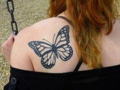 tatuagens de borboletas tinta na pele 87