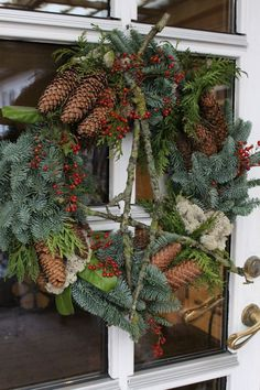 homemade advent wreath in bowl with moss, cinnamon sticks, star anise and tree & Christmas Flower Arrangements, Christmas Flowers, Natural Christmas, Outdoor Christmas, Rustic Christmas, Winter Christmas, All Things Christmas, Christmas Holidays, Christmas Wreaths