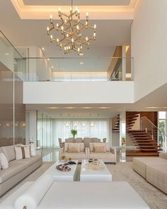 Living Room Color Combination Best Woodworking 2020 : Home Design Home Stairs Design, Home Building Design, Dream Home Design, Modern House Design, Mansion Interior, Dream House Interior, Luxury Homes Dream Houses, Home Interior Design, Interior Decorating