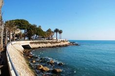 Antibes, Cote d'Azur, France #beach viewofwater.com