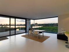 corner view - House S by Grosfeld van der Velde Architecten