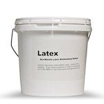 Latex is best for making molds for casting cement, concrete, plaster, hydrocal, or hydrostone. It can be used for limited runs of resin castings, but the yield is low.